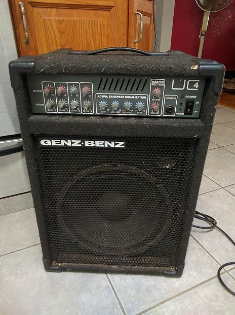 Genz Benz Uc4 Amplifier Staten Island Drum Co