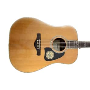 Ibanez AVD80-NT Artwood Vintage Thermo Aged Spruce/Rosewood Acoustic Dreadnought Guitar Natural High Gloss