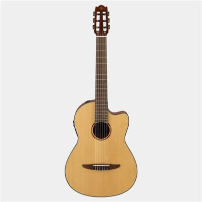 Yamaha NCX1 Nylon String Acoustic Electric Guitar w/Solid Sitka Spruce Top for sale