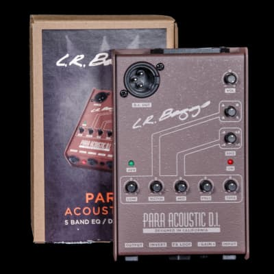 LR Baggs Para Acoustic DI 5-Band EQ/Direct Box
