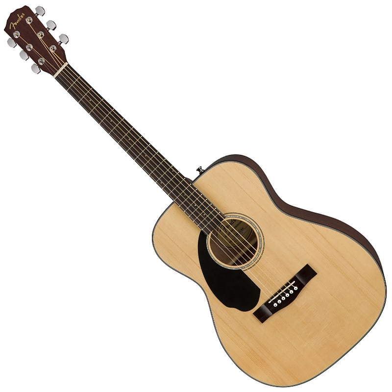 fender cc 60s lh acoustic guitar walnut natural reverb. Black Bedroom Furniture Sets. Home Design Ideas