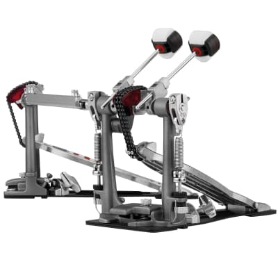 Pearl P2052CL Eliminator Redline Chain-Drive Double Bass Drum Pedal (Left-Footed)