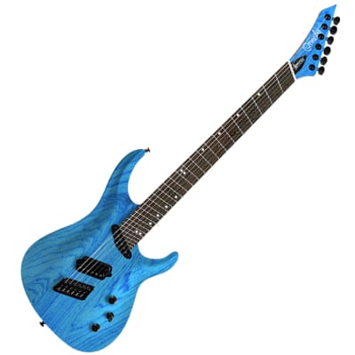 Ormsby SX GTR 7 Carved Top, Run 10  Maya Blue Candy for sale