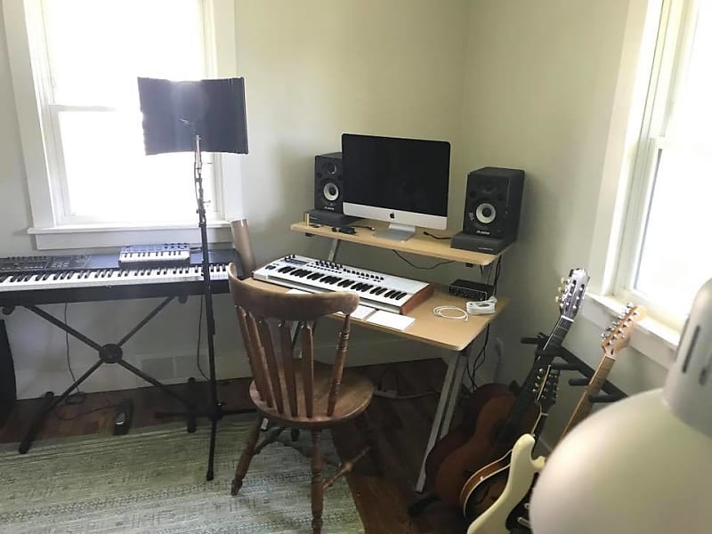 On Stage Ws7500mg Wooden Studio Workstation 2010s Maple Grey