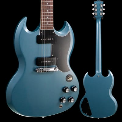 Gibson SG Special 2020 Faded Pelham Blue 214 6lbs 4.1oz for sale