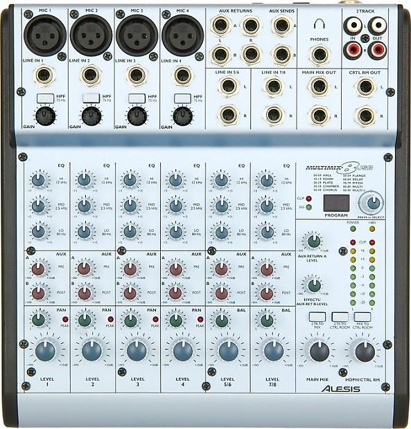 alesis multimix 4 usb manual