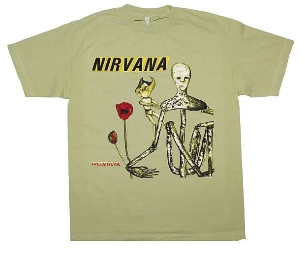 ee2b85c38 Nirvana Incesticide Album T-Shirt - Medium | Reverb