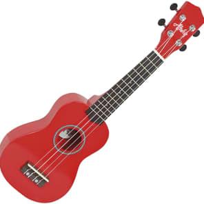 Aloha 200RD ukelele soprano color rojo for sale