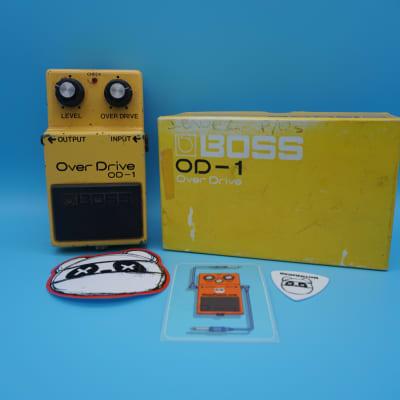Boss OD-1 Overdrive w/Original Box | Rare Serial 0000 (Long Dash/Silver Screw) MIJ | Fast Shipping!