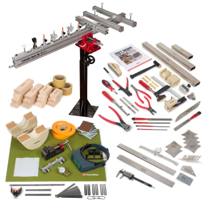 StewMac Guitar Shop Deluxe Tool Set for sale
