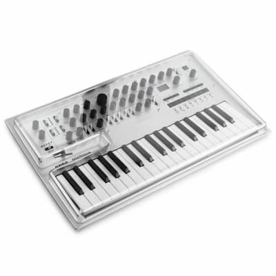 Decksaver Korg Minilogue & Minilogue XD Synthesisers Cover (smoked clear)