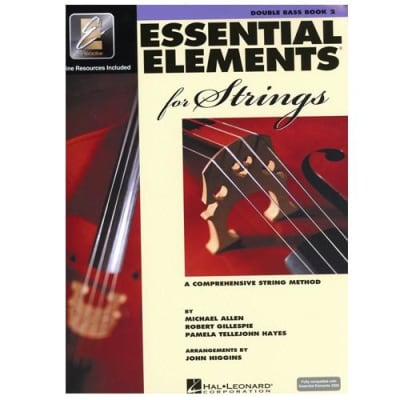 Essential Elements 2000 for Strings - Double Bass | Book 2 (w/ CD)