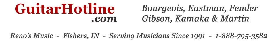 GuitarHotline - Serving Musicians Since 1991