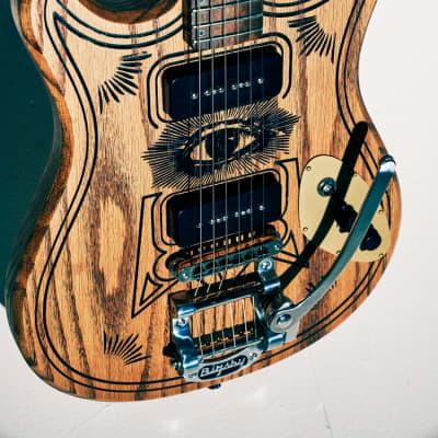 Custom Blast Cult Magic13 Electric Guitar x London Design for sale