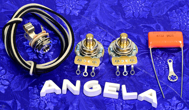 angela upgrade wiring kit for p precision bass with cts