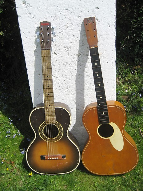 Majestic Us Strad Parlor Guitars 1930 S Projects Reverb