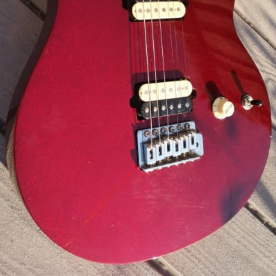 Olp Mm1 Van Halen Candy Apple Red Electric Guitar Official Licensed Product for sale