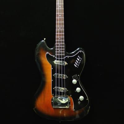Burns Vista Sonic Bass 1961/62 Sunburst for sale
