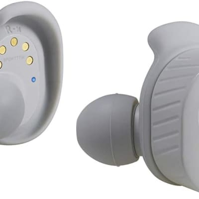 Audio-Technica ATH-SPORT7TWGY SonicSport Wireless In-Ear Headphones, Gray