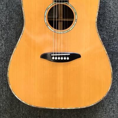 Bertoncini Custom Dreadnaught-Brazilian Rosewood-Adirondack-Ebony for sale