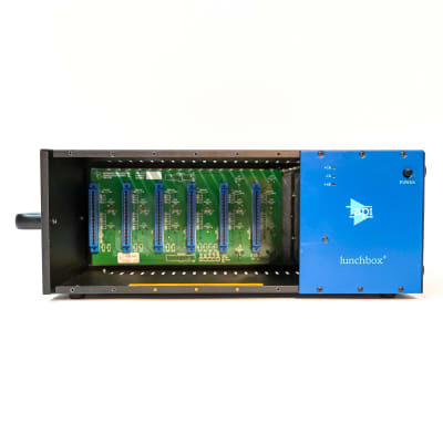 API 500-6B 6 Slot 500 Series Lunchbox Empty Chassis with Built-in Power Supply