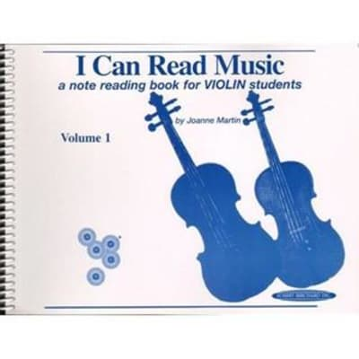 I Can Read Music: A Note Reading Book for Violin Students - Volume 1