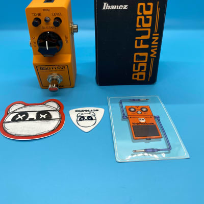 Ibanez 850 Fuzz Mini Pedal w/Original Box | Fast Shipping!