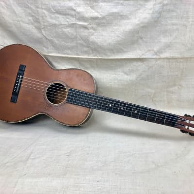 Vintage 1930's Lyon & Healy or Regal Supertone  Acoustic Parlor Guitar Needs TLC & Repair for sale
