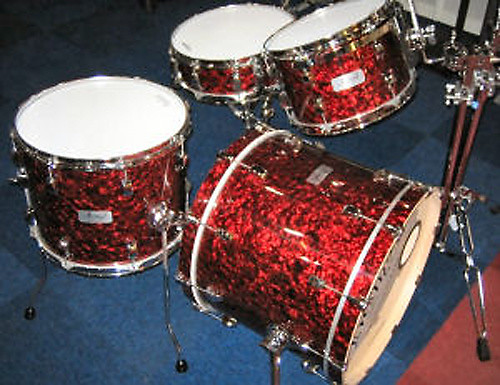 Georgia Phil Professional Drum Wrap Red Pearl Reverb