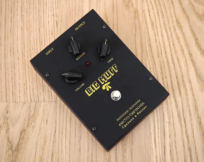 2000s electro harmonix black russian big muff fuzz guitar reverb. Black Bedroom Furniture Sets. Home Design Ideas