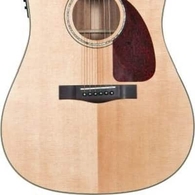 Fender CD-320ASCE Dreadnought Cutaway Acoustic-Electric Guitar - Natural