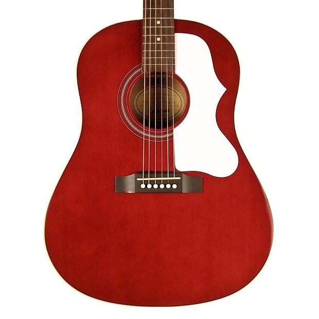 epiphone 1963 ej-45 guitare acoustique – wine red