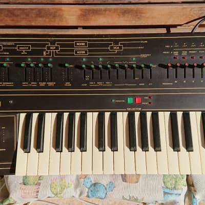 Siel Mono black synth monophonic vintage RARE crumar moog