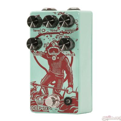 Walrus Audio Deep Six Compressor V3 Guitar Effect Pedal
