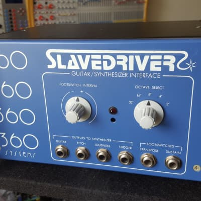 360 Systems Slavedriver vintage analog guitar synthesizer cv / gate pitch follower avatar spectre