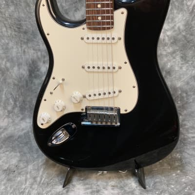 Fender American Standard Stratocaster Left Handed 2001 Black for sale