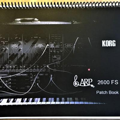 Korg ARP 2600 FS Patch Book
