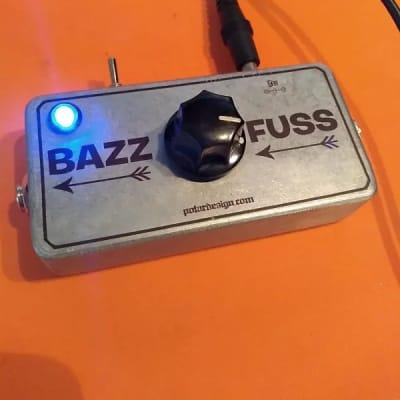 POTAR Design Bazz Fuss Bass Fuzz 2019 Silver