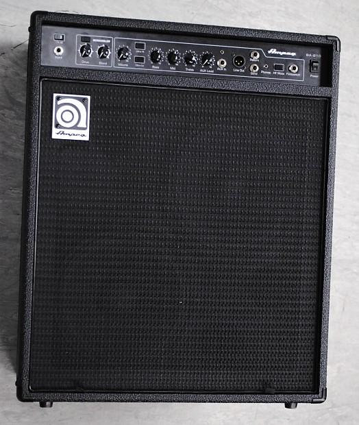 ampeg ba 210 v2 amplifier reverb. Black Bedroom Furniture Sets. Home Design Ideas