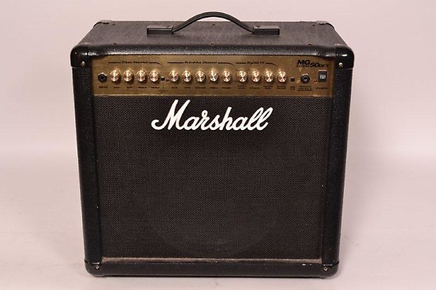 Goede Marshall MG50DFX 50-Watt Amplifier W/Footswitch | Reverb PQ-88