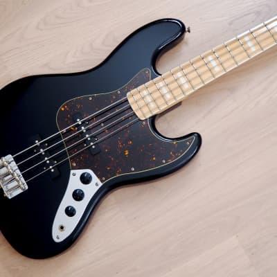 2004 Fender Jazz Bass '75 Vintage Reissue JB75-90US Black Japan CIJ, USA Pickups for sale