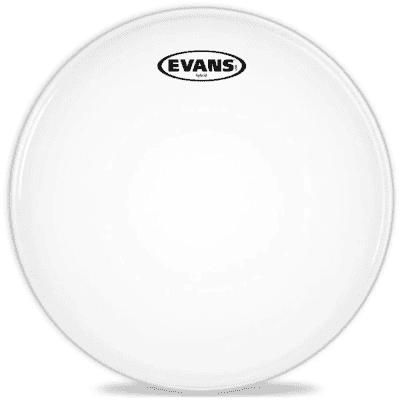 "Evans SB13MHW Hybrid White Marching Snare Drum Head - 13"""
