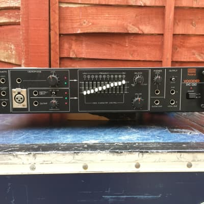 Roland SVC-350 Vocoder, vintage, rack mount, UK/EU voltage.