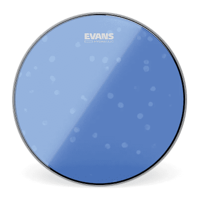 "Evans TT13HB Hydraulic Blue Drum Head - 13"""
