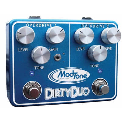 ModTone MT-DUO Dirty Duo Overdrive Guitar Effects Pedal