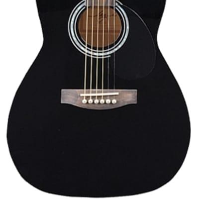 Jay Turser JJ43-PAK-BK-A JT J Jr. 3/4 Acoustic Pack Black New, Ships Free for sale