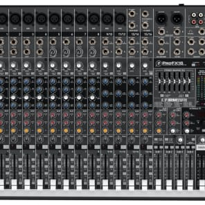 Mackie ProFX16 16-Channel Professional Mic / Line Mixer with Effects