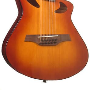 Veillette Avante Gryphon 12 String High Acoustic Electric Guitar Sunburst for sale