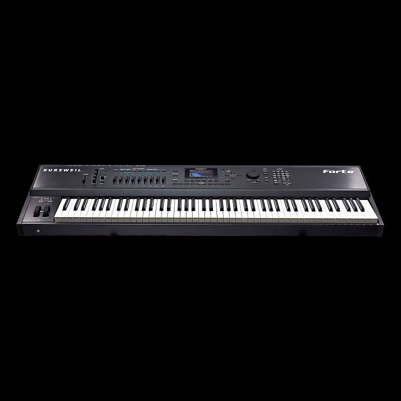 kurzweil forte keyboard 88 key fully weighted hammer action reverb. Black Bedroom Furniture Sets. Home Design Ideas