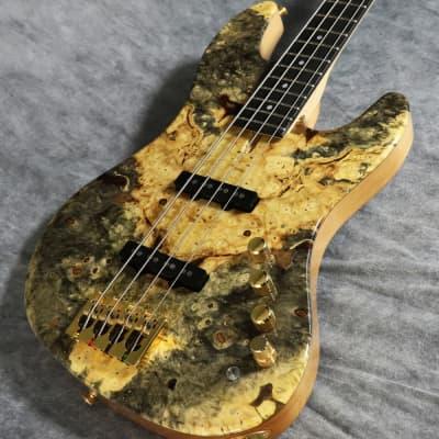 Phoenix Bomber Bass Buckeye Burl Natural/0909 for sale